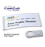 CombiCraft  Polar ® 30 Naambadge Classic 70x30mm voorzien van een SMAG ® magneet, prijs per stuk vanaf: