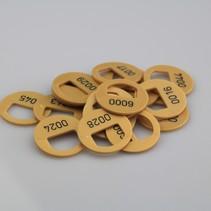Flexo - 1 , Ø38 mm , 1 - 50 genummerd