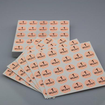 CombiCraft Consumptiemunt matjes van glad karton 1000 stuks