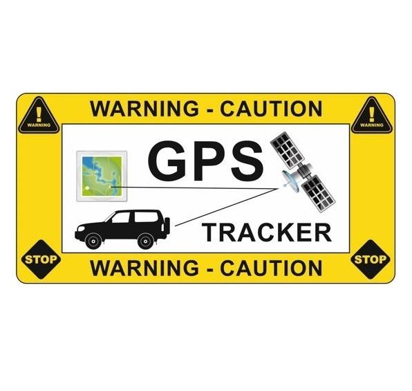 CombiCraft Auto sticker GPS tracker / antidiefstal sticker, prijs per sticker vanaf: