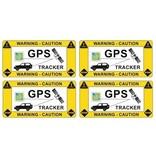 CombiCraft GPS-tracker auto sticker (antidiefstal sticker)