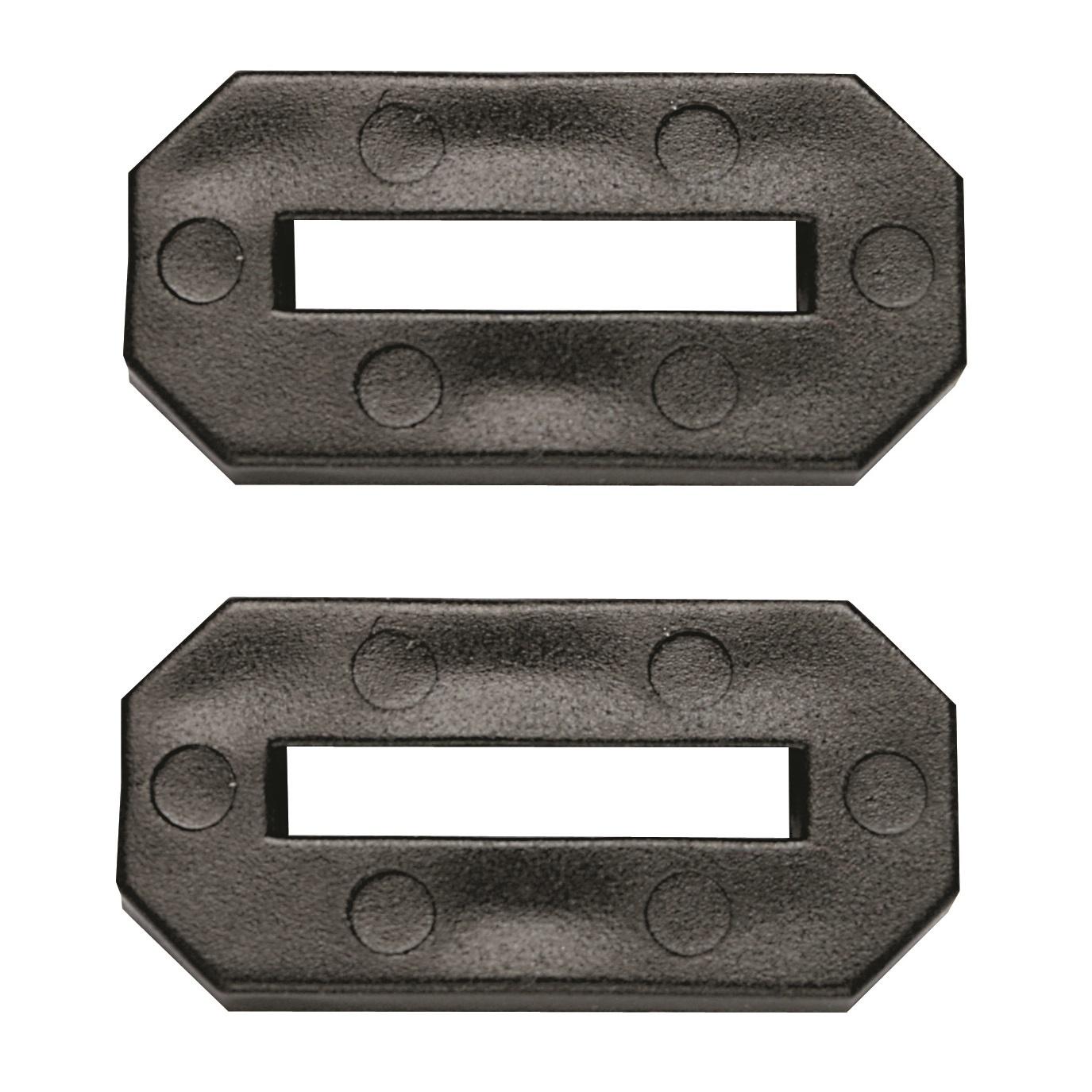 CombiCraft Rubberen Stootringen voor diverse Aluminium, RVS, Kunststof en Messing Hotelsleutelhangers