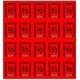CombiCraft Consumptiekaarten met 20  halve consumpties in 8 kleuren, prijs per kaart vanaf: