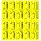 CombiCraft Eigen ontwerp Consumptiekaart met 20 kleine bonnen in 8 kleuren, prijs per kaart vanaf: