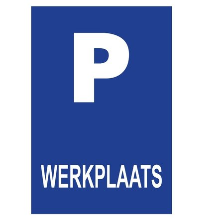 CombiCraft Bordje - Parkeerplaats met jouw tekst 21x30cm
