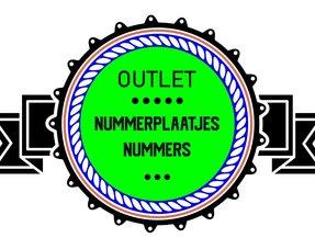 Nummerplaatjes outlet