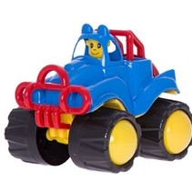 Grote Jeep Monstertruck 22 x 19 x 18 cm #2288