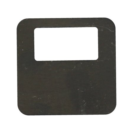 CombiCraft Gekleurde Aluminium Elox Garderobenummers 35x35mm