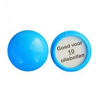 Openschroefbare loterij ballen met inlegplaatje