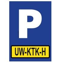Parkeerplaats met jouw kenteken