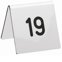 Acrylaat tafelnummers
