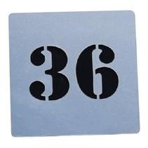 Nummer bord Serie Plex