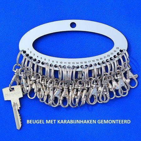 CombiCraft Acrylaat Cipiersbeugel voor 25 sleutels