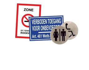 Symbool, sanitair, pictogram en informatieborden