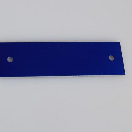 CombiCraft Gekleurd Aluminium Naamplaatje 70x20mm met 2 gaatjes