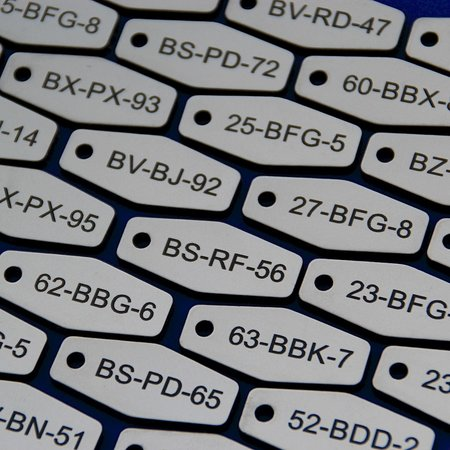 CombiCraft Sleutellabels Acrylaat wiebertje in diverse afmetingen en kleuren