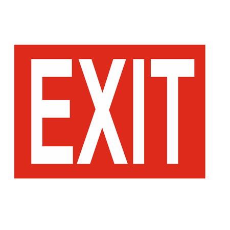 CombiCraft Bordje - Exit of Uitgang