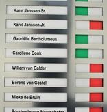 CombiCraft Aanwezigheidsbord - Afwezigheidsbord voor 10 personen