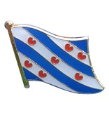 CombiCraft Friese Vlag Pin - Pin van de vlag van Friesland met vlindersluiting