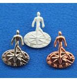 CombiCraft Pins of speldjes naar eigen ontwerp - Gietpin