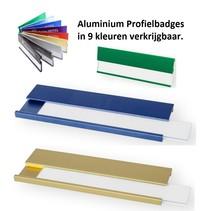Profielbadges Aluminium