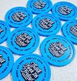 CombiCraft Plastic munten met jouw eigen full colour bedrukking vanaf 1000 stuks