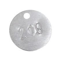 Nummerplaatjes Blank Aluminium
