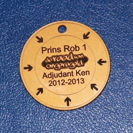 CombiCraft Acrylaat Medailles van 3 tot 30 cm groot  met jouw eigen ontwerp