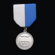 Geslagen medaille in metaal
