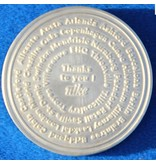 CombiCraft Gegoten munten onedel zilver vanaf 1 stuks