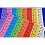 CombiCraft Voorbeeld van consumptiebonnen op gekleurd papier voor FC Etzella (Luxemburg)