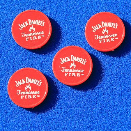 CombiCraft Voorbeeld van plastic consumptiemunten voor Jack Daniels