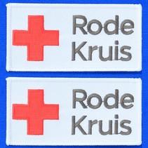 Stofbadges Rode Kruis