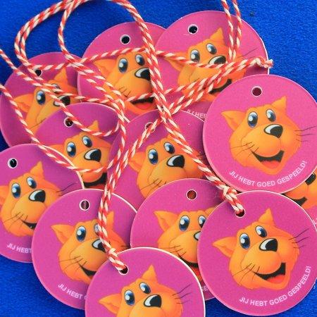 CombiCraft Voorbeeld van kindermedailles voor Ballorig