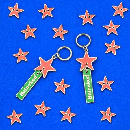 CombiCraft Voorbeeld van jasknopen en ritssluitingen (lipjes) voor Heineken
