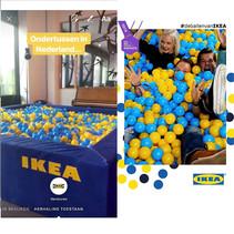 Voorbeeld van ballenbakballen verhuur IKEA.