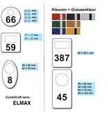 CombiCraft Aluminium garderobemunten in alle maten vanaf 50 stuks