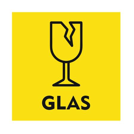CombiCraft Glas bordje 10x10cm