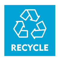 Recycle bordje