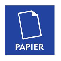 Papier bordje
