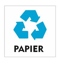 Recycle Papier bordje