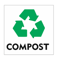 Recycle Compost bordje