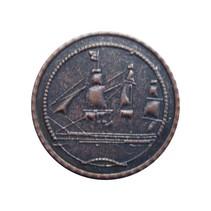 Gegoten munten antiek verouderde brons