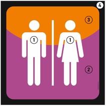 Toiletbordje met eigen ontwerp