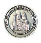 CombiCraft Gegoten munten antiek zilver vanaf 1 stuks