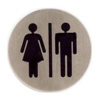 Toiletten bordje