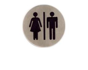 Edelstaal serie toiletbordjes