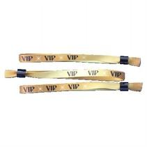 100 Textiele VIP Polsbandjes - Textiel -