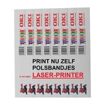 Polsbandjes voor Laserprinters 1000 stuks
