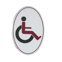 Invalide toiletbordje Aluminium